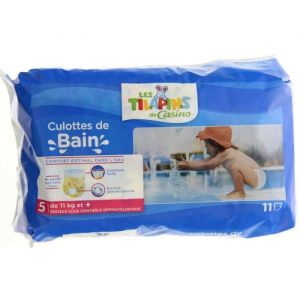 Les Tilapins Culottes de bain taille 5 (11 kg+) - x11
