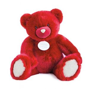 Doudou et Compagnie Ours collection rubis xxl 80cm