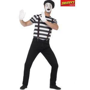 Smiffy's Déguisement mime homme avec maquillage