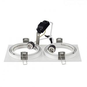 SLV Spot encastrable Ampoule halogène, LED GU10 113841 150 W blanc (mat)