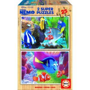 Educa Puzzle Walt Disney: Finding Nemo 2 x 25 pièces