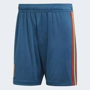 Adidas BR2711 Short Homme, Triblu/Rouge/Bogold, FR : L (Taille Fabricant : L)