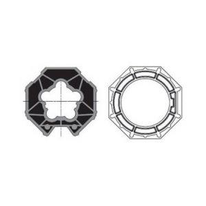 Somfy Jeu d'adaptation moteur pour LT 50 tube Selve Imbac octo 70 - 9410336