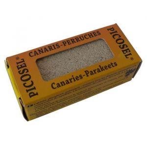 Girard sudron PICOSEL Bloc de sel - Pour canaris et perruches - 100g