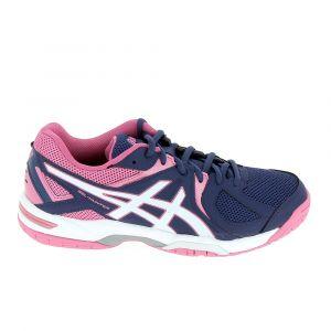 Asics Femmes Gel-Hunter 3 Courts et Cour Intérieure Chaussures Sportives Indigo, Bleu, 40.5