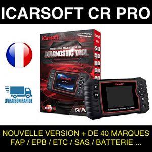 Valise Diagnostic Auto MULTI OBD2 100% Francais I OFT CR Pro