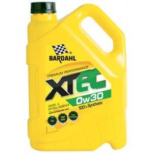 Bardahl Huile moteur XTEC 0W30 Essence et Diesel 5 L
