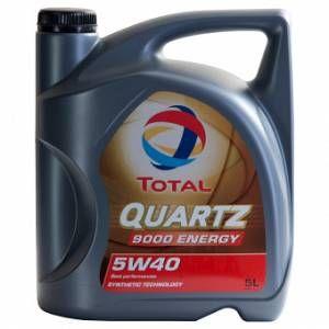 Total Huile Moteur Quartz 9000 Energy 5w40 (5l)