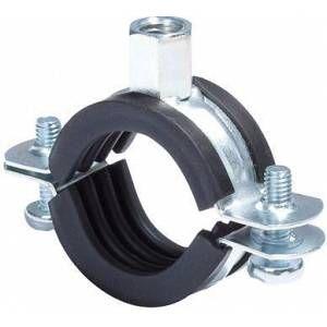 """Fischer Collier de tuyau FRS A2 Plage de serrage 15-19 mm (3/8"""") filet de raccord M8"""