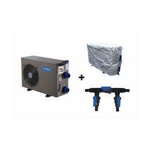 Sunbay 778393 - Pompe à chaleur réversible pour piscine jusqu'à 120 m3 + vanne by pass + housse