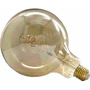 Silamp Ampoule E27 LED Filament Dimmable 6W G150 Globe Vintage CLAIR - couleur eclairage : Blanc Chaud 2300K - 3500K