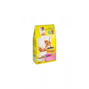 Friskies Chat Junior Poulet, Dinde Et Légumes 1.5 Kg