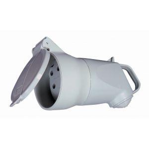 Legrand Fiche plastique 3P+T 32 A - Femelle - Plexo étanche - Gris