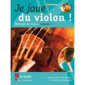Dehaske JE JOUE DU VIOLON VOL.1 + CD Méthode et pédagogie Cordes Violon