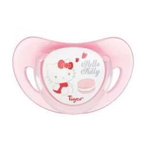 Tigex Hello Kitty 2 Sucettes physiologiques Silicone +18 m