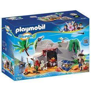 Playmobil 4797 Super4 - Caverne des pirates