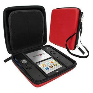 ZedLabz Étui protecteur portatif rigide en matériau EVA pour Nintendo 2DS