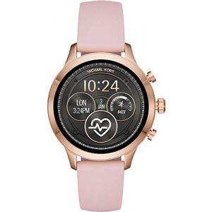 Michael Kors Access Runway silicone rose
