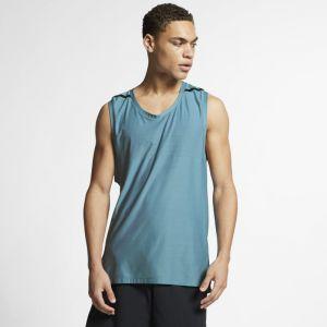 Nike Haut de training sans manches Dri-FIT Tech Pack pour Homme - Bleu - Couleur Bleu - Taille L