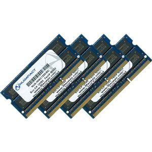 NUIMPACT NUA-IMAC1333/8G x4 - Barrettes mémoire 4 x 8 Go DDR3 1333 MHz SoDimm 204 broches