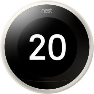 Nest Thermostat connecté Learning 3ème génération Blanc