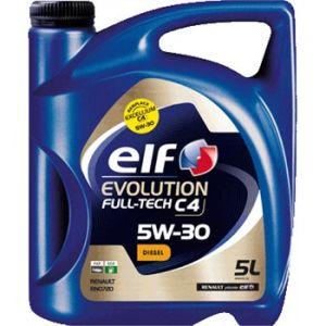 Elf Huile moteur Evolution Full-Tech C4 5W30 Diesel 5 L