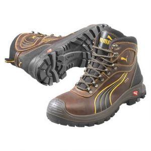Puma Safety Chaussure de sécurité de chantier, S3 HRO, brune, , 630220, Taille : 44