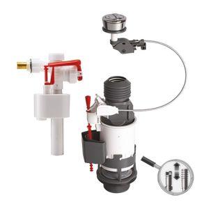 Wirquin Mécanisme double chasse à câble MW² et robinet flotteur F89 Pro 10718521