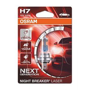 Osram Ampoule, projecteur longue portée NIGHT BREAKER LASER 64210NL-01B