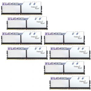 G.Skill Trident Z Royal 64 Go (8 x 8 Go) DDR4 3200 MHz CL16 - Argent