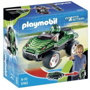 Playmobil 5160 Sports et Action - Voiture camouflage à emporter