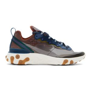 Nike Chaussure React Element 87 Homme Rose - Taille 45.5 - Male