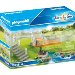 Playmobil Family Fun Extension Set Adventure Zoo 70348