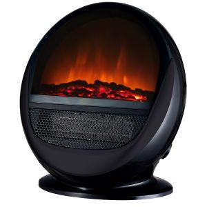 Chemin'Arte Cheminée électrique - design Pop Fire Noire