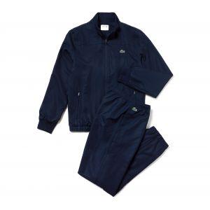 Lacoste Sport WH3584 Ensemble de sport Homme Bleu (Marine/Marine-Blanc R26) X-Small (Taille fabricant:2)