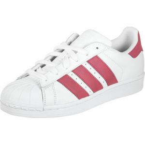Adidas Originals Baskets Superstar Adicolor, Blanc (Footwear White/Footwear White/Core Black 0), 38 2/3 EU