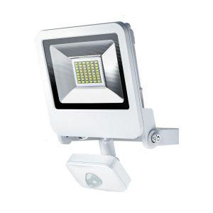 Osram Projecteur Extérieur LED ENDURA FLOOD - Détecteur de Mouvement - Etanche IP44 - 30W - 2400 lumen - Orientable 180° - Blanc chaud 3000K - Blanc