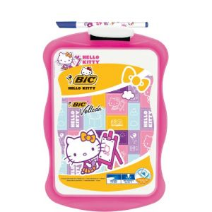 Image de Bic Ardoise écolier double face Hello Kitty