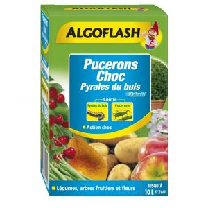 Algoflash Insecticides pucerons choc & pyrales du buis 100ml