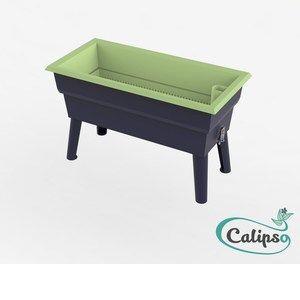 Calipso Jardinière MINI 40 L gris/tilleul