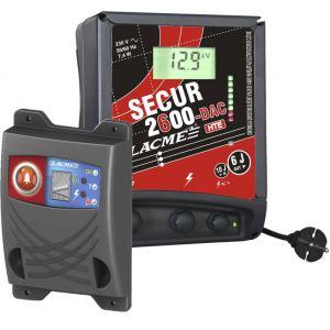 Lacme Electrificateur secteur - PACK SECUR 2600 DAC-HTE