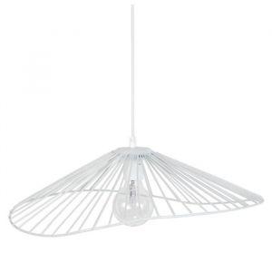 LADY Lustre suspension filaire 50x44x13 cm blanc E27 40W