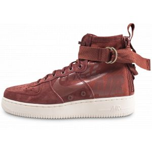 Nike Air force 1 sf mid 917753 202 homme chaussures de skate rouge 43