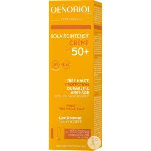 Oenobiol Solaire Intensif Crème Anti-Age - 50 ml - SPF 50+