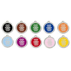 Chadog Médaille personnalisable motif Chien