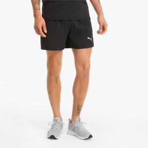 Puma Short Run Favorite Woven 5'' Session Noir - Taille XL
