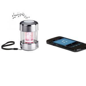 Clip Sonic TES129BT Haut-parleur LED compatible Bluetooth