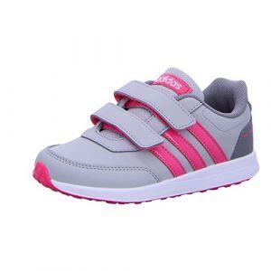Image de Adidas Vs Switch 2 CMF C, Chaussures de Fitness Mixte Enfant, Gris (Gridos/Rosrea/Gritre 000), 35 EU