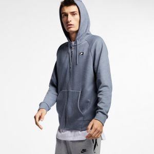 Nike Sweat Sportswear Optic Fleece Bleu - Taille XL