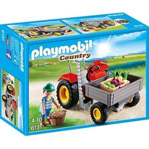 Playmobil 6131 Country - Tracteur de chargement